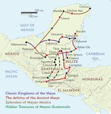 Merida Mexico Map by World Of The Maya New Discoveries In The New Millennium
