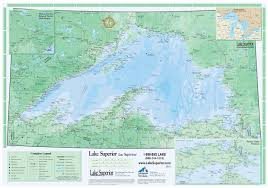 Map Of Upper Peninsula Lake Superior Travel Guide