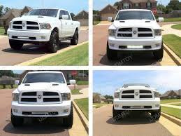 dodge ram white grill 120w white strobe led light bar dodge ram 3500 2500