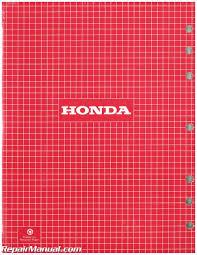 honda gx110 gx140 small engine shop manual
