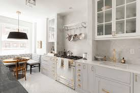 dark grey cabinets simple brown wooden counter simple round black