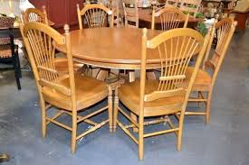 dining table ethan allen maple dining room table and chairs