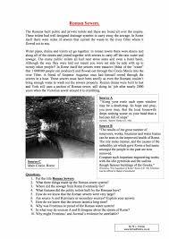 a roman menu sample free year 7 pdf worksheet