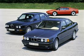 the history of bmw cars bmw m5 e28 through f10 a history of supremacy car and driver