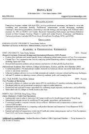 resume for college program application template 1 modern bio