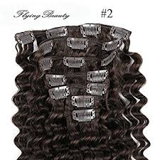 curly hair extensions clip in curly brown clip in hair extensions 100 remy human