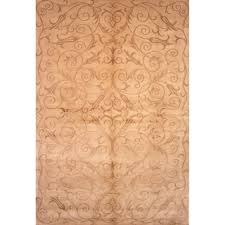 Tibetan Hand Knotted Rug Safavieh Hand Knotted Tibetan Iron Scrolls Slate Gold Wool Silk