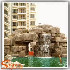 selling fiberglass wall garden fountains marble brass fake big