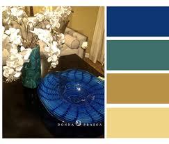 Blue Color Palette by Blue Teal And Gold Color Palette Decorating By Donna U2022 Color Expert