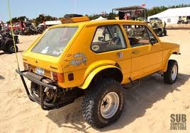 volkswagen type 4 type 4 powered rabbit baja with type 1 based suspension vw