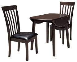 Ashley Outdoor Furniture Hammis Round Drop Leaf Dining Room Set From Ashley D310 15