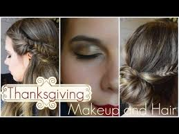 thanksgiving hairstyles and makeup