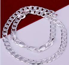 2017 nice fashion jewelry pop men u20acs necklace 825 sterling silver