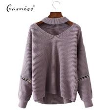 knitted sweater gamiss winter sweaters pullovers casual knitted
