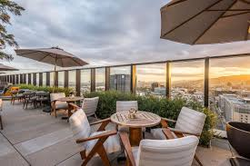 bask in the sunset at hollywood u0027s newest rooftop lounge eater la