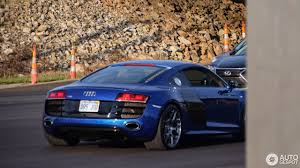 audi r8 chrome blue audi r8 v10 24 august 2017 autogespot