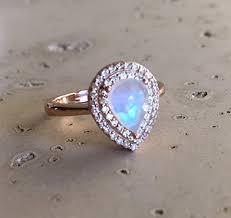 moonstone engagement rings moonstone engagement ring gold promise ring