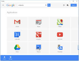 google updates its windows 10 app with material design google app on windows 10