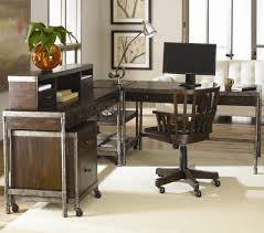 metal computer desk w hutch by hammary wolf and gardiner wolf
