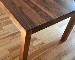 custom made dining tables uk solid walnut dining table custom made solid walnut dining table