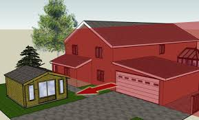national parks protected land keops interlock log cabins principle elevation keops interlock log cabins