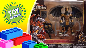 black knight with blackheart true legends knights u0026 dragons toy
