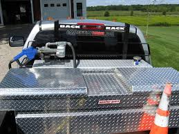 Fuel Tanks For Truck Beds Upfitted My Truck Bed With Weather Guard Boxes Plowsite