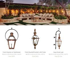 French Quarter Gas Lanterns by Featured On Dering Hall Bevolo Gas U0026 Electric Lighting