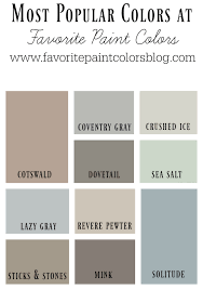 Popular Paint Colors 2017 by Fascinating 20 Top 10 Interior Paint Colors 2017 Design Ideas Of