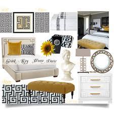 greek key home decor bedroom polyvore