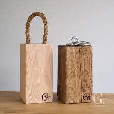 solid oak door stop u2013 ginger u0026 tweed