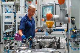 bmw factory robots bmw group harnesses potential of innovative automation and