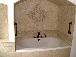 bathrooms design glass mosaic tile tile flooring ideas marble