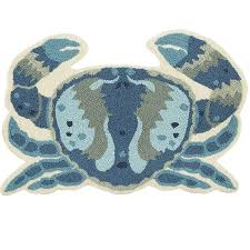 blue crab blue 2x3 rug pier 1 imports