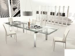 Glass Extendable Dining Table And 6 Chairs Chair Extendable Glass Dining Table And 6 Chairs