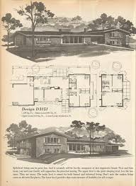 Mid Century Modern House Plan 205 Best Retro House Plans U0026 Designs Images On Pinterest Vintage
