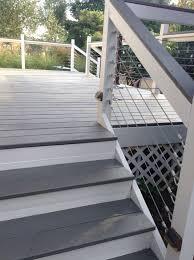 best 25 painted decks ideas on pinterest gray deck deck bench