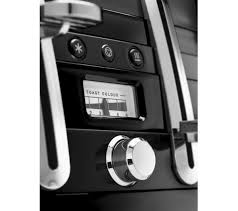 Cheapest Delonghi Toaster Buy Delonghi Avvolta Cta4003 B 4 Slice Toaster Black Free