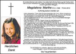traueranzeige sprüche traueranzeige magdalena marthe vom 07 07 2012