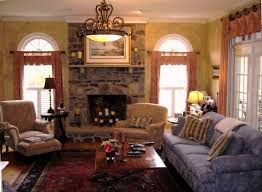 French Country Designs Family Room Transitional Family Room - Family room in french