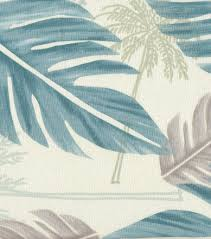 tropical fabric large palm leaf home decor fabric joann