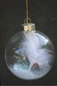 feather ornament sympathy gift or remberence gift