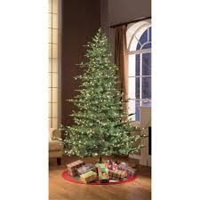 puleo international 7 5 pre lit aspen green fir tree walmart