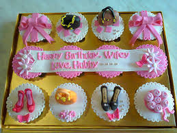romantic birthday cupcakes for beloved wife jakarta flickr