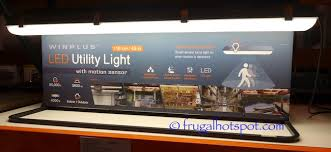 Costco Sale Winplus Motion Sensor Led Utility Light 29 99 Frugal