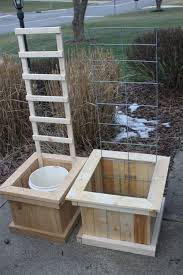 Making A Vegetable Garden Box by Best 25 Grow Boxes Ideas On Pinterest Water Containers Self