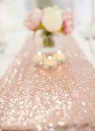 Blush Pink Table Runner Table Runner Rose Gold Berries And Blush Australia
