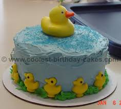 coolest birthday cake designs for rubber ducky cakes