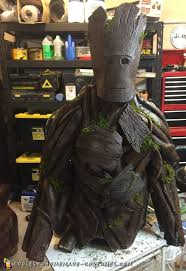 groot costume epic diy groot costume from guardians of the galaxy
