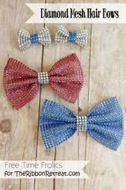 bows for hair diy projects hair bows